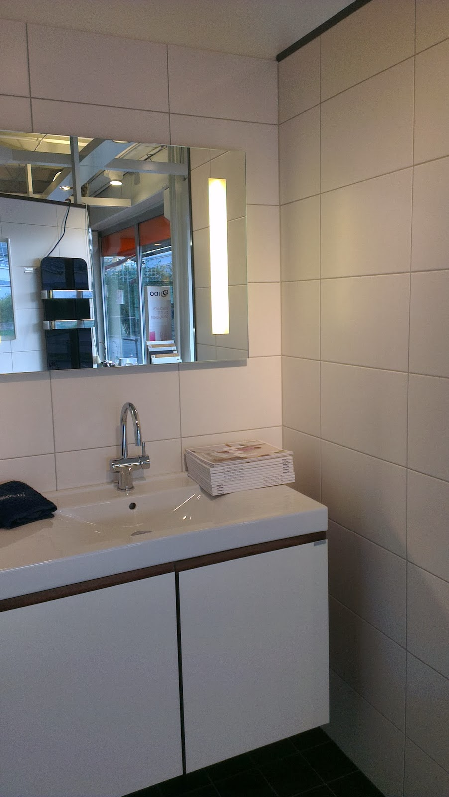 Släng dig i väggen, ernst!: kakelval i badrummet