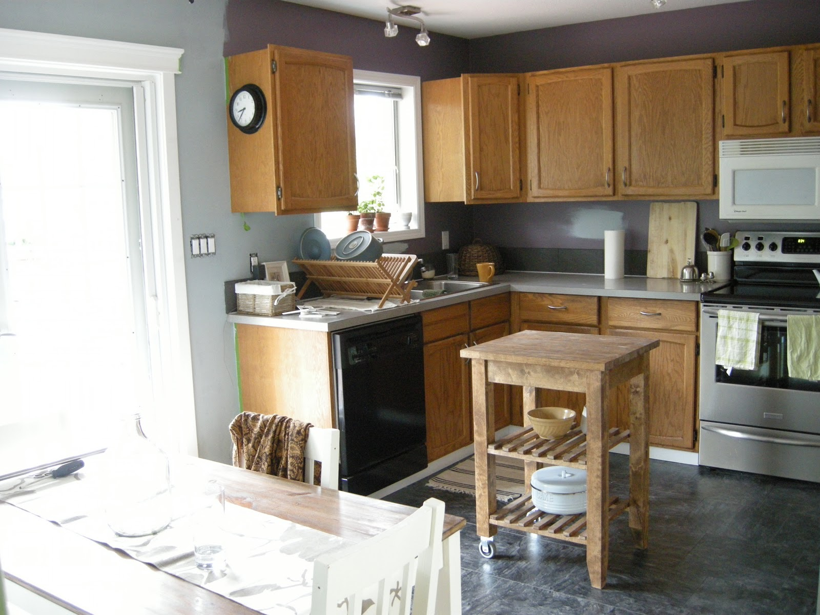 10 decorating ideas for a gray kitchen walls | czytamwwannie's