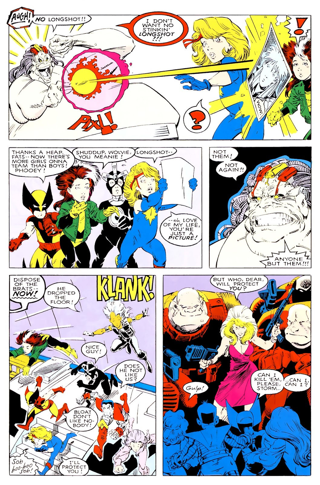 Read online X-Babies comic -  Issue #1 - 35