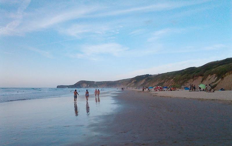 Playa de Merón Bederna en San Vicente de la Barquera