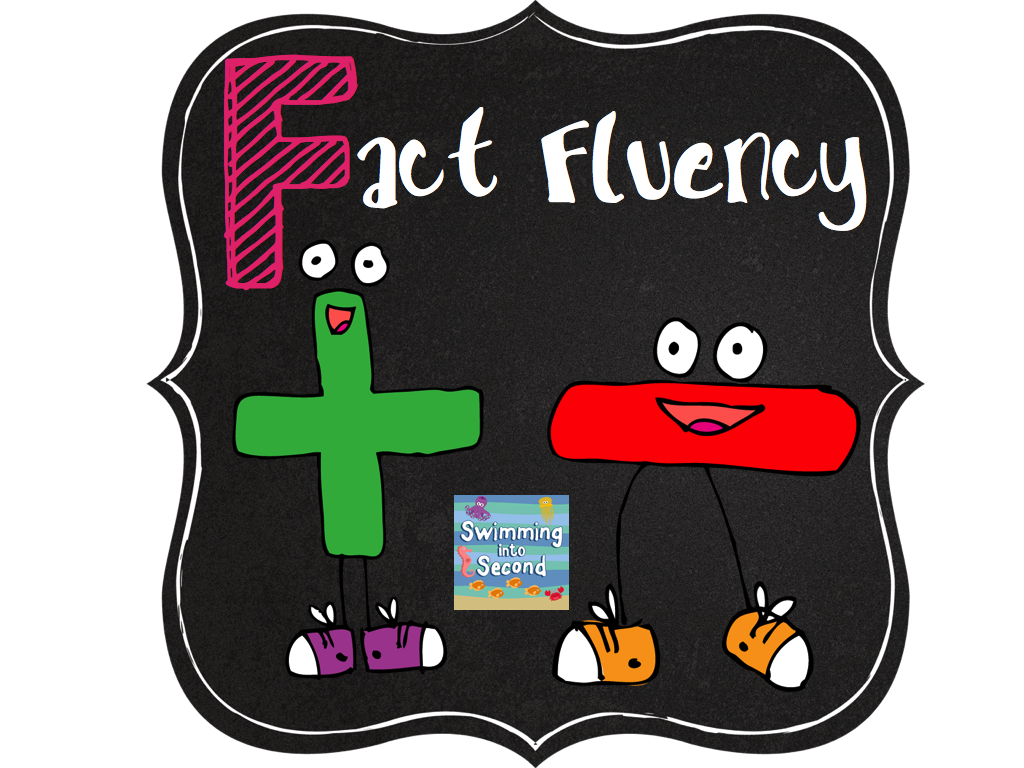 Worksheet What Is Math Fluency swimming into second f is for fact fluency abcs of 2nd grade my level team has really made math facts an important part our classrooms the past 2 years since common core g