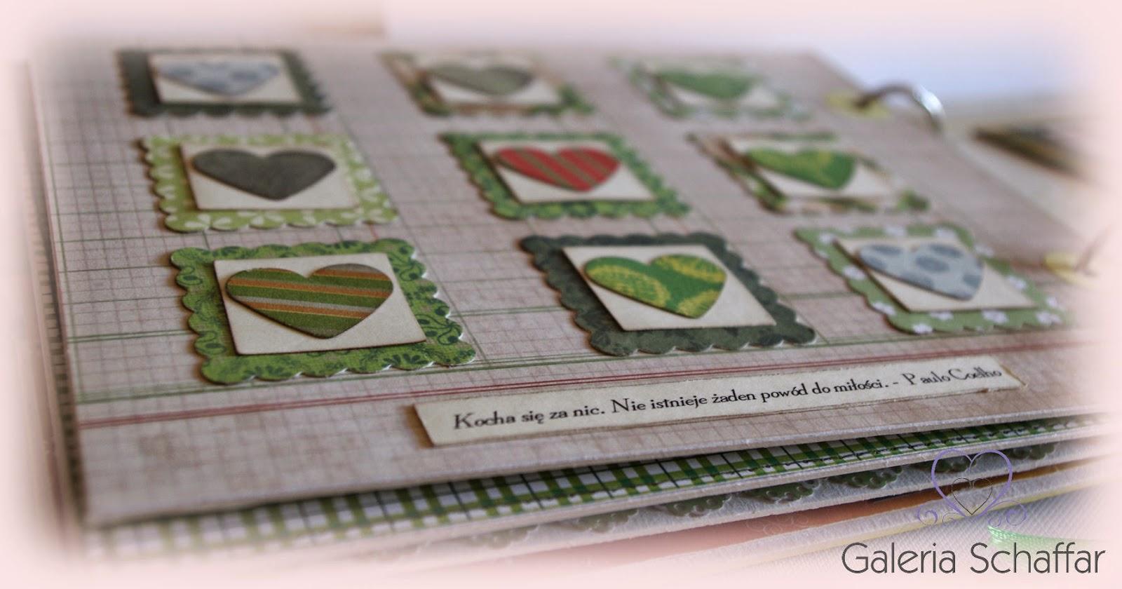 nietypowy album na zdjecia o miłości galeria schaffar papierowe rękodzieło wrocław