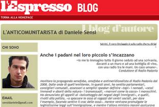 Questo blog si è trasferito sull'Espresso