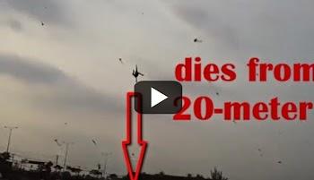 Σοκαριστικό βίντεο: Χαρταετός σηκώνει στον αέρα πεντάχρονο παιδάκι