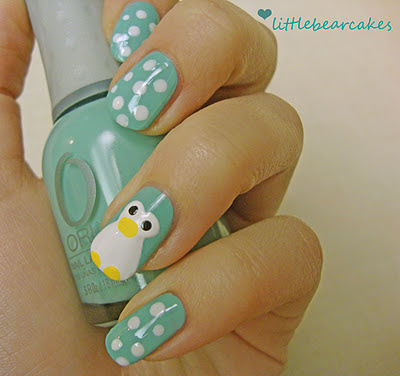 Nail Art Idea Cute Character Nail Art