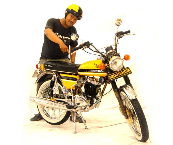 Modifikasi Honda CB100