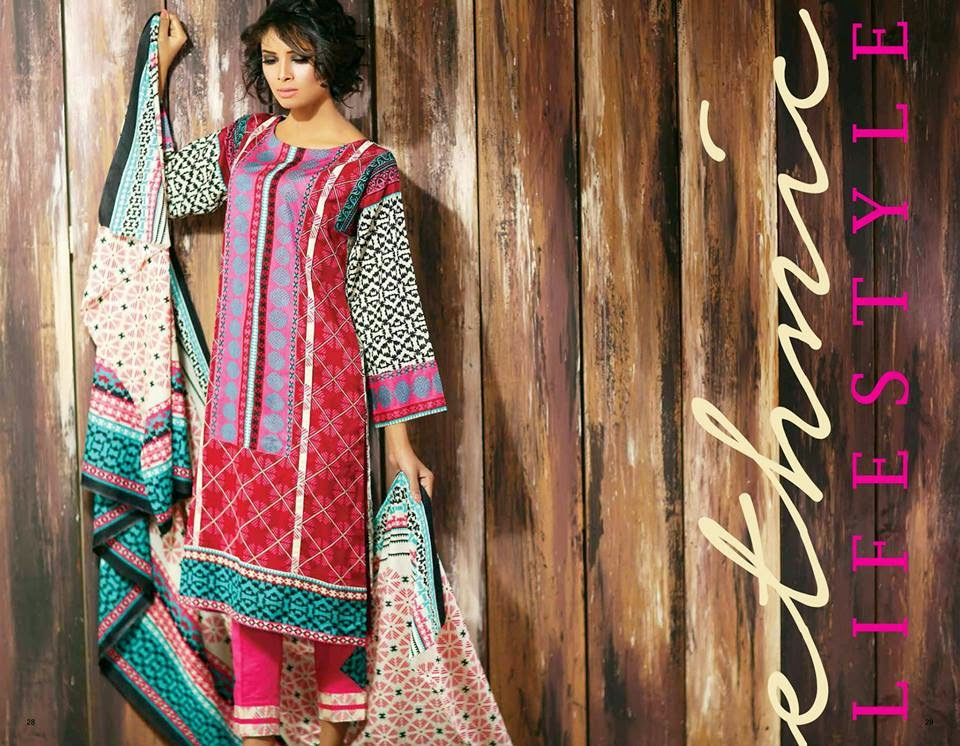 Ajwa Summer Lawn Collection 2015