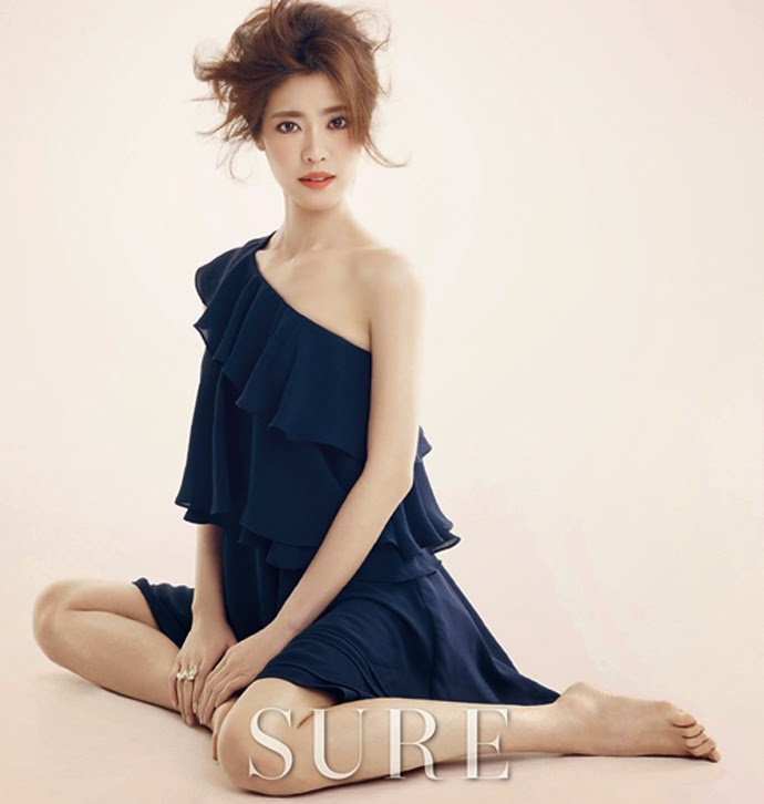 Lee Yoon Ji - Sure Magazine April Issue 2014