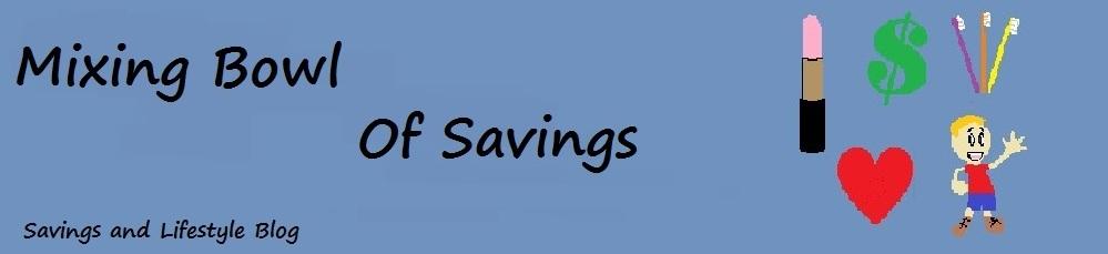 Mixing Bowl of Savings