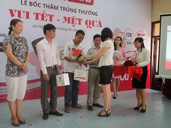 trao giải thưởng CTKM