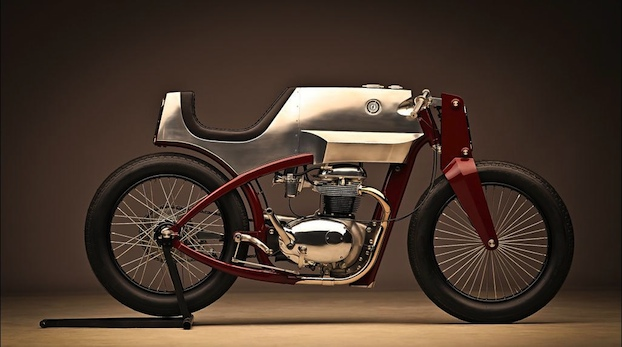 Texas Rider News Steampunk Inspired Cafe Racer Motorcycle
