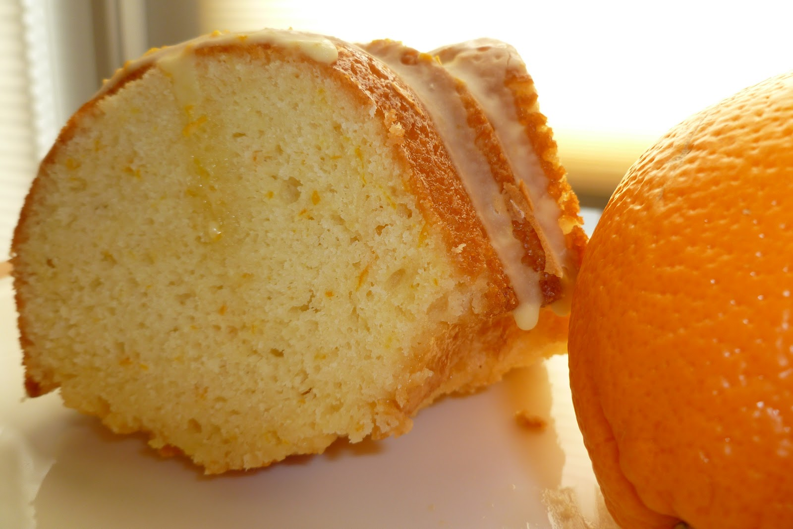 The Pastry Chef's Baking: Orange Cake a la Dorie Greenspan
