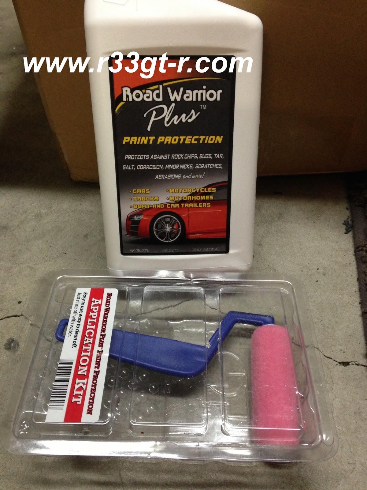 Road Warrior Plus Paint Protection Applicator Kit