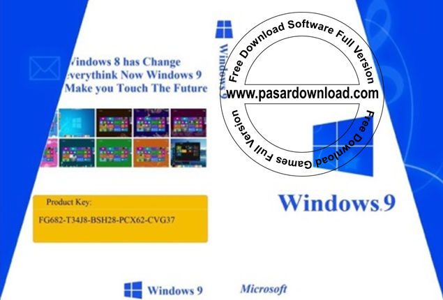 Free Download Windows 7 With Windows 9 Style x64