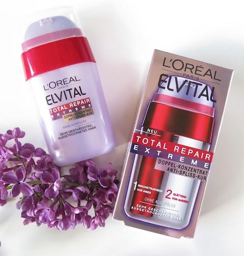 Loreal Elvital Total repair extreme dvigubo poveikio serumas
