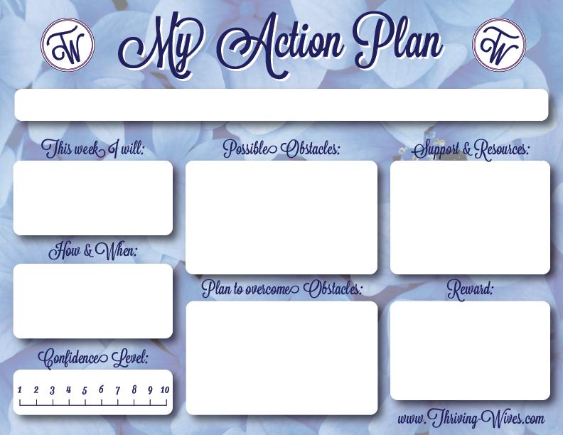 blank action plan template – Blank Worksheet Template