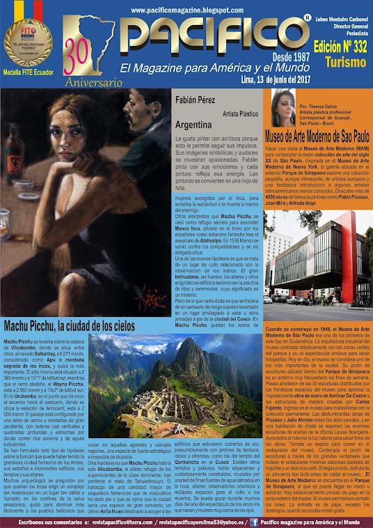 Revista Pacifico Nº 332 Turismo