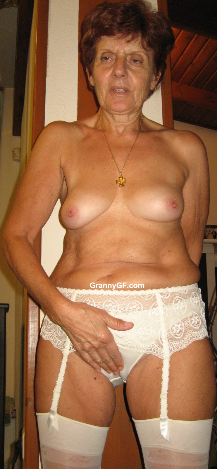 Mature full oma nude grannies