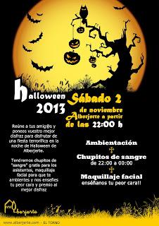 Halloween 2013. Alberjerte, Valle del Jerte
