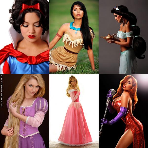 Princesse Real Life Disney Characters