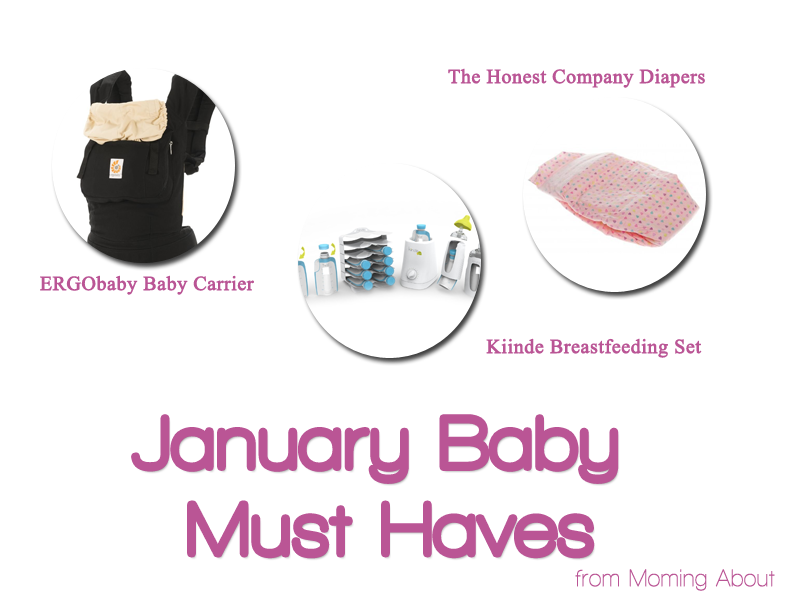 Baby Registry Must Haves for January at Moming About