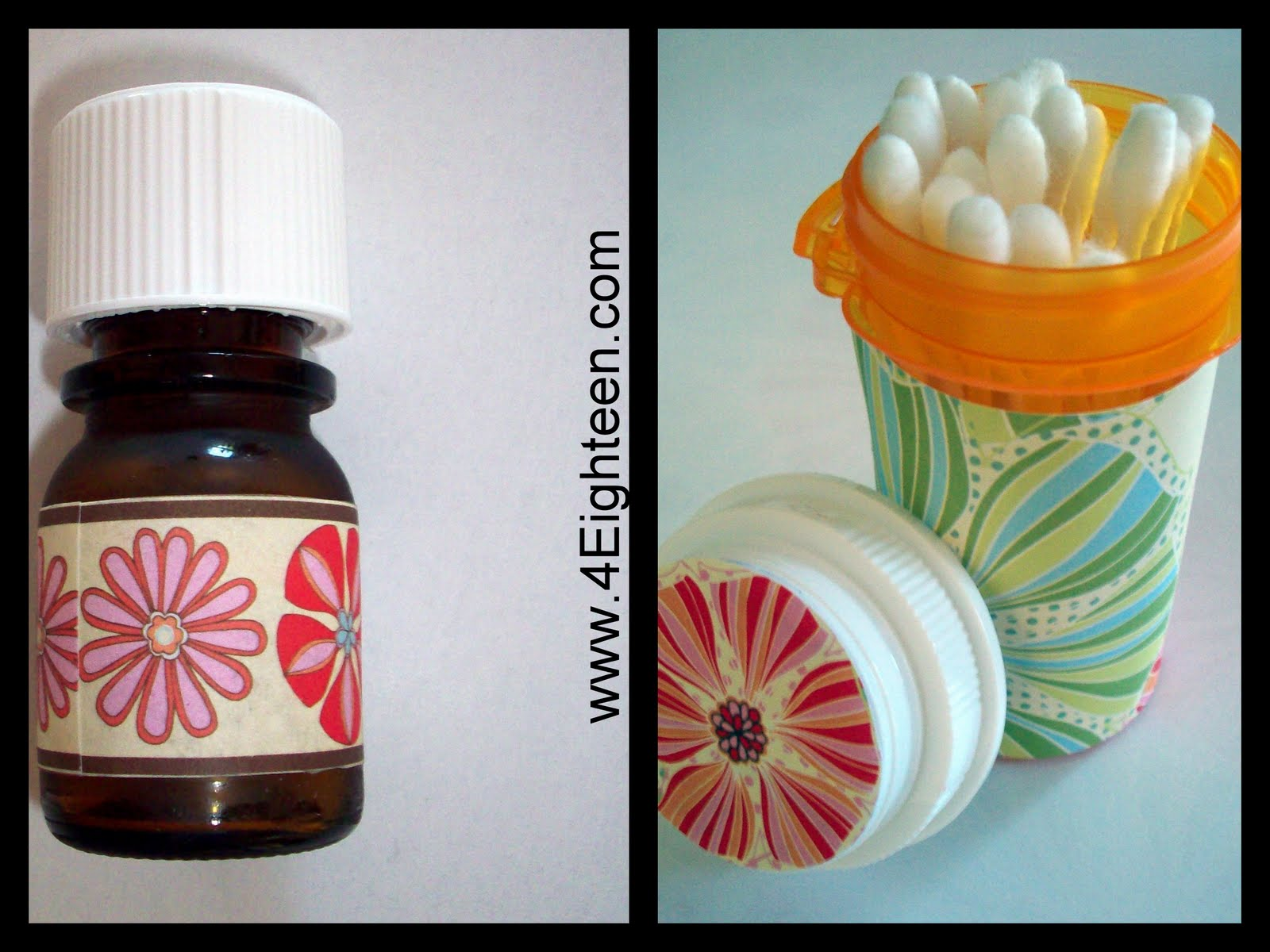 4eighteen reduce reuse recycle medicine bottles for What to do with empty prescription bottles
