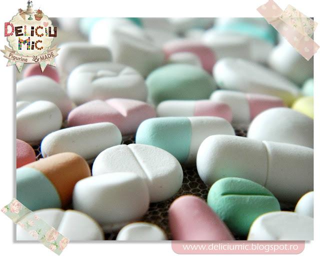 Colier handmade pastile