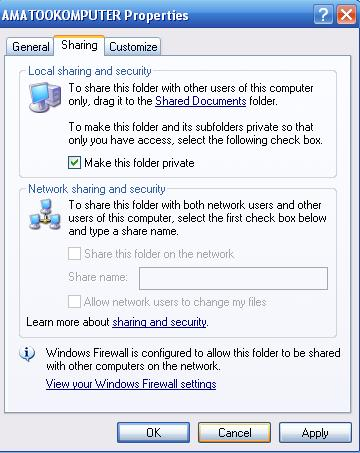Cara Mudah Membuat Password Untuk Folder Pribadi, AmatooKomputer 2