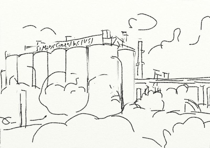 Factory Drawing Cement factory drawing