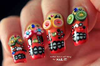 Nail It! Magazine - Mexican Sugar Skull nail art tutorial