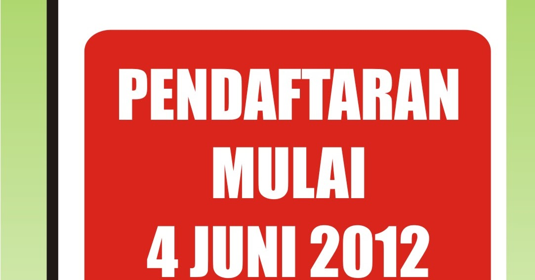 Pendaftaran Peserta Didik Baru Ppdb Th 2012 2013 Mulai 04 Juni 2012 Smk Muhammadiyah 3
