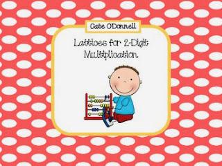 http://www.teacherspayteachers.com/Product/Lattices-for-Multiplying-2-Digit-Numbers-998684