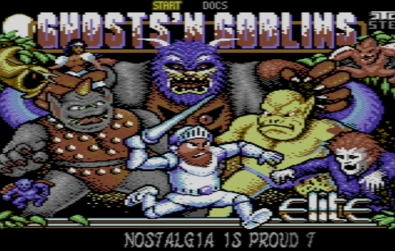 Ghosts'n Goblins Arcade - A stunning revamp for the C64 is now available! (Indie Retro News Exclusive!) {UPDATE}
