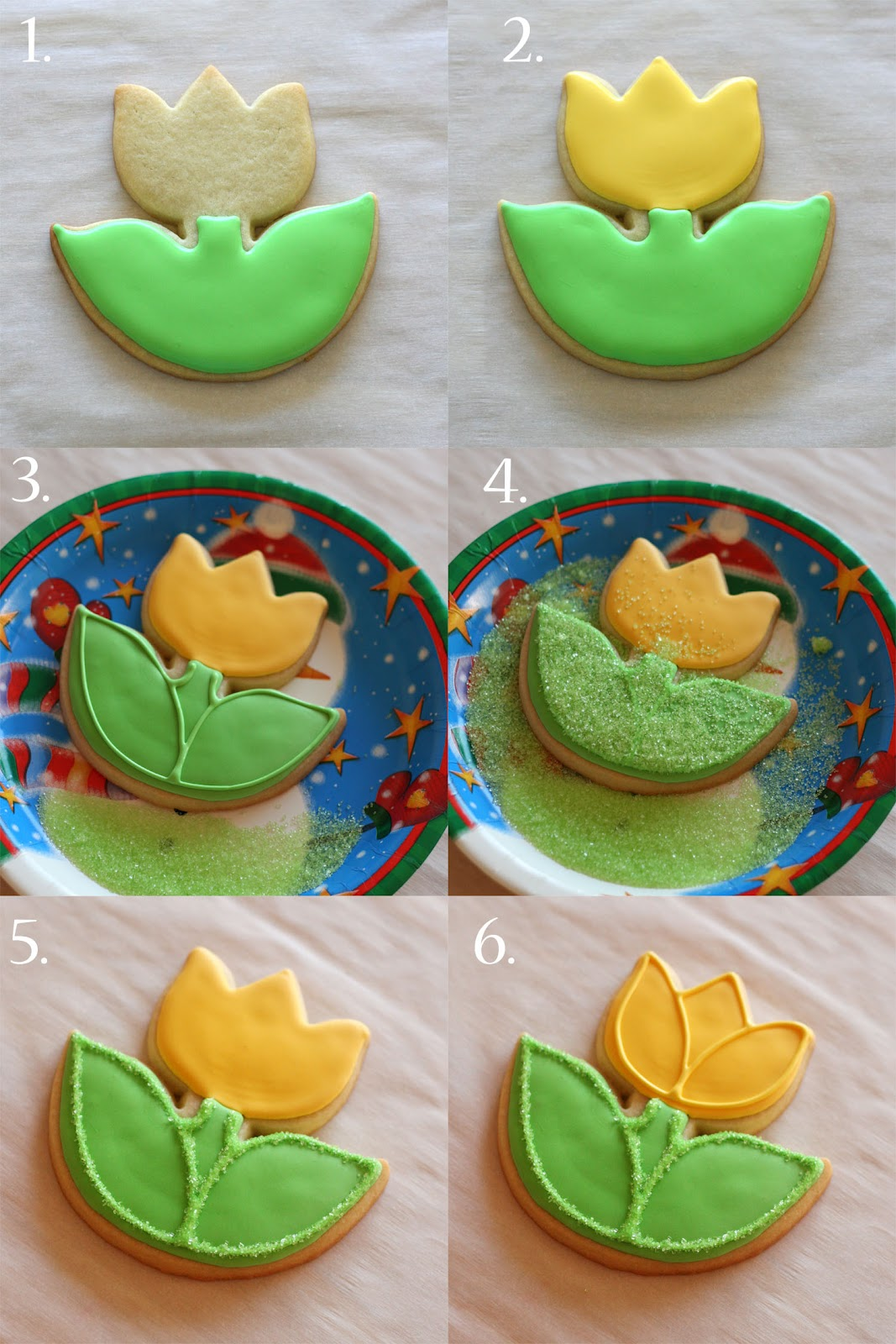 Cookie Tulips Recipe — Dishmaps