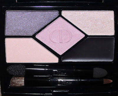 Dior Designer 5-Colour Palette in Purple Design