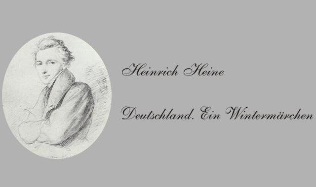 Gedichte Und Zitate Fur Alle H Heine Deutschland Ein