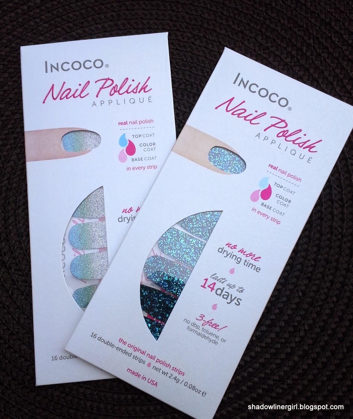 Incoco Nail Polish Appliques Review