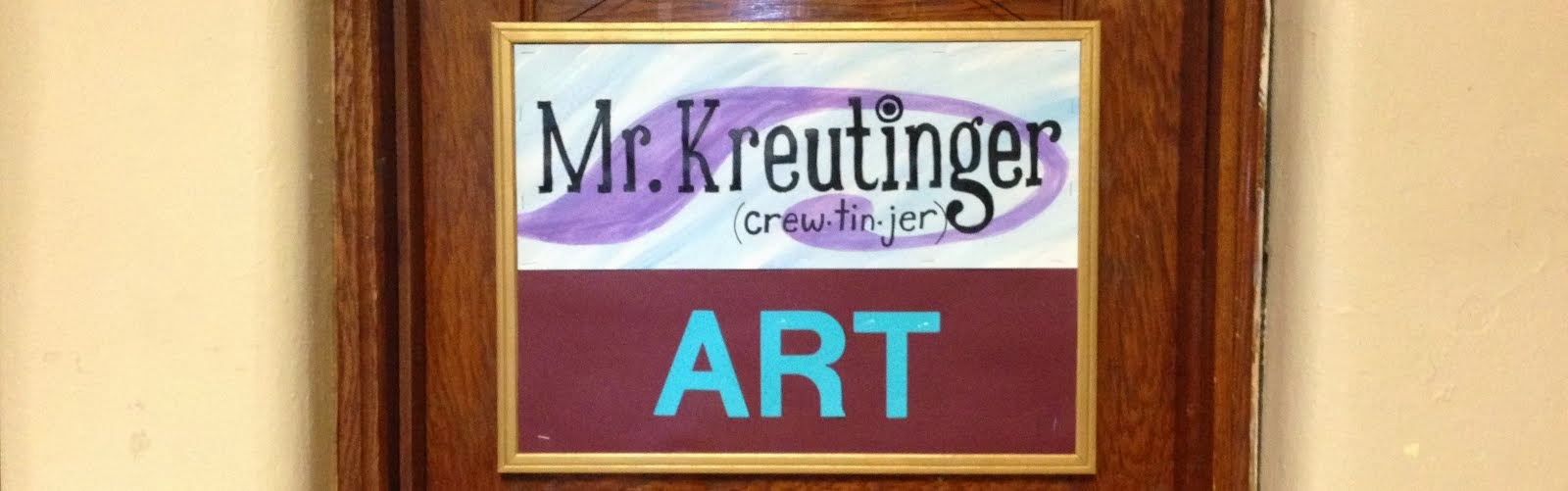 Mr.Kreutinger's Art Room!!!