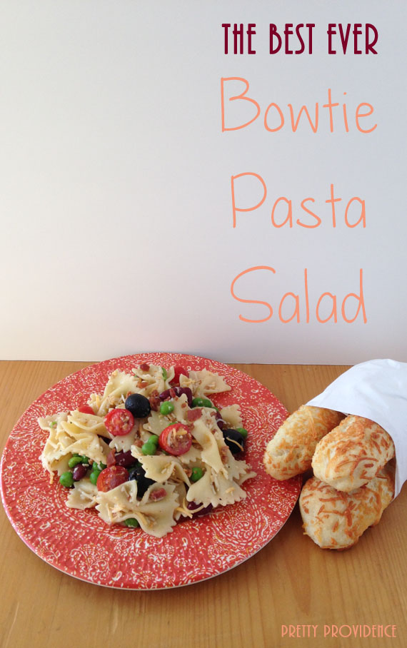 The Best Ever Bowtie Pasta Salad - Pretty Providence