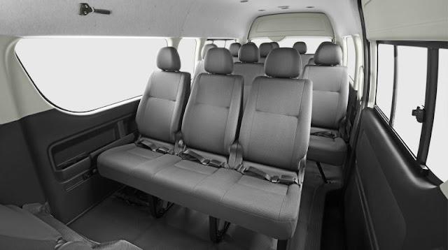 interior sewa mobil hiace di malang