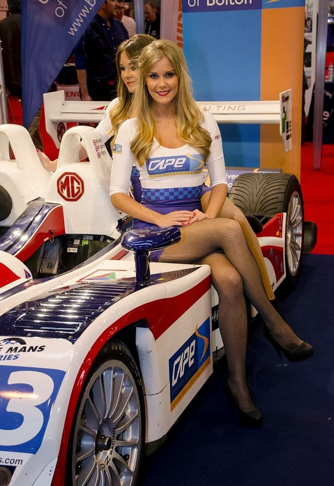 2014 Autosport International Girls Carsfresh
