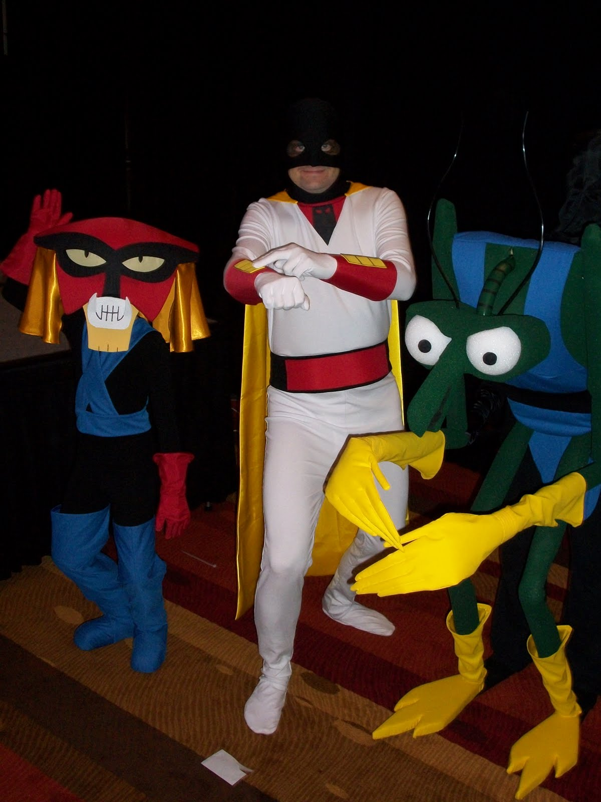 tuesday september 6 2011 - Space Ghost Halloween Costume