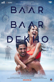 Baar Baar Dekho 2016 Hindi Movie 720p hevc DVDRip
