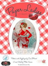 February Paper ladies Pattern available March 11