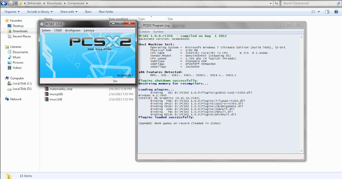 My New Blog: Cara memainkan game format ISO di PCSX2