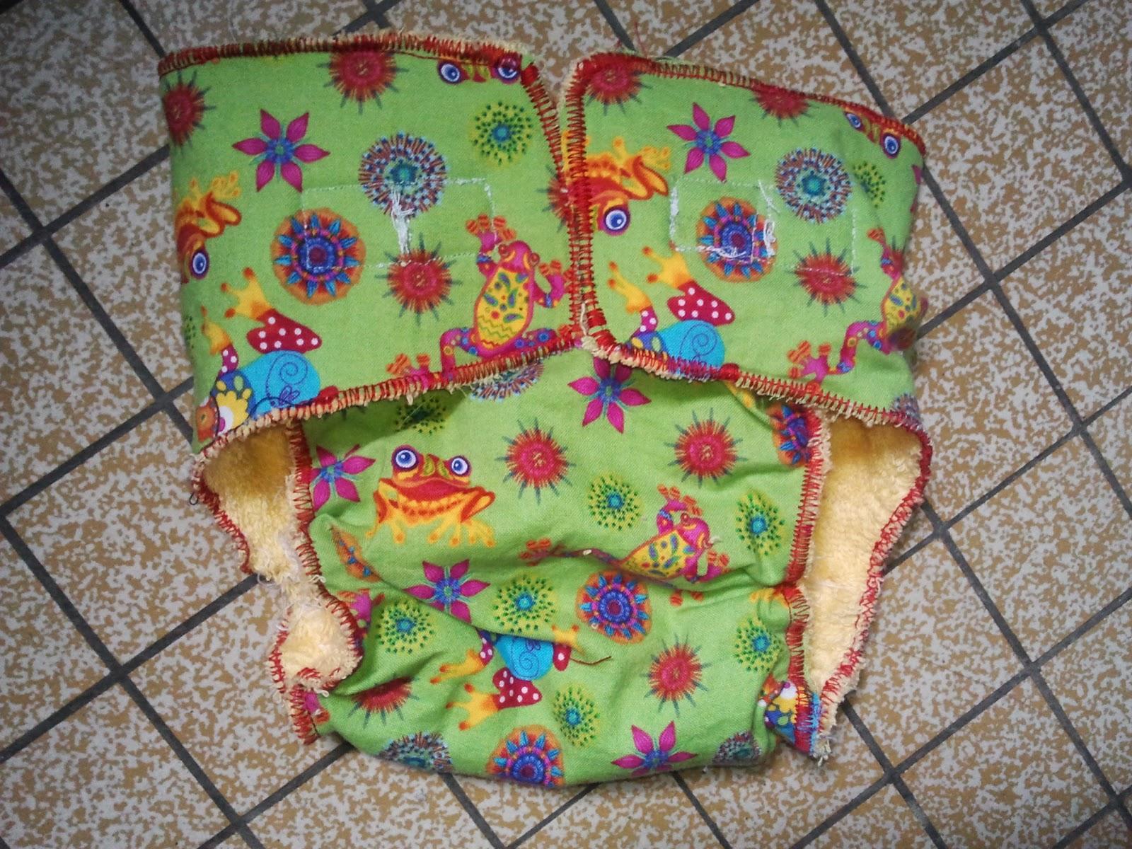 coudre couches lavables couture fait maison DIY PUL bambou tencel absorbant