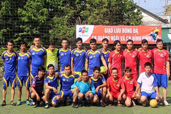 Giao Lưu Bóng Đá Giữa FPT Quảng Ngãi Và FPT Bình Định