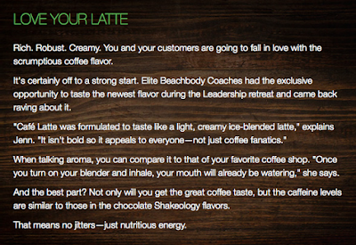 Cafe Latte Shakeology - Top 5 Things to Know About Cafe Latte Shakeology - Cafe Lattel Shakeology Challenge Group - Buy Cafe Latte Shakeology