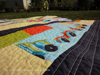 Vroom - quilting detail