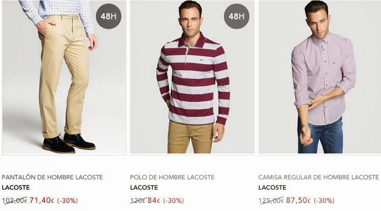 ropa de lacoste para hombre 11-2014